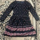 Легкое весенее шифоновое платье в цветочек