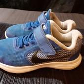 Легкие кроссовки Nike, ориг. Индонезия, разм. 27,5 (16,5 см по бирке, реально 18,2 см)