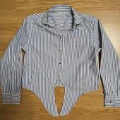 Рубашка с жемчужинками 5-6 лет.