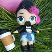 Куколка в комплекте одежды и аксами + шар оригинал MGA LoL лол