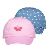 ♥-кепки George 2шт в наборе ,размер 8-12-♥