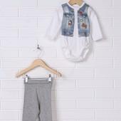 Шикарный набор Боди и лосины H&M, 50,56,62 р размер на выбор победителя