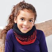 Симпатичный, многофункциональный полосатый баф/шарф от Tchibo(Германия) размер универсальный