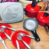 Набор посудки для юной хозяюшки. 14 предметов. My kitchen fun