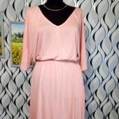 нежно розово платье