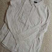 мужская рубашка ,фланель, от New Look. Нюанс.