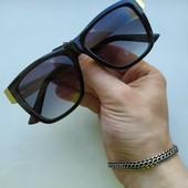 Стильные солнцезащитные очки + подарок! UV 400. Дорогая, эксклюзивная модель!❦ ❥❥❦