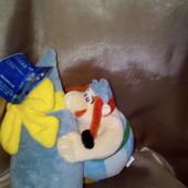 Lidl мягкая игрушка Obelix & Menhir комплект как на фото
