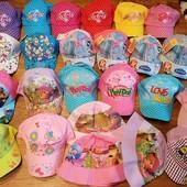красивые, яркие кепки, панамки разные, 48-56