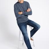 ☘ Однотонные базовые джинсы Marks & Spencer W38/L31 (наш 54р)