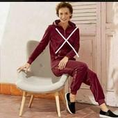 esmara.велюровые штаны с пакетами S 36/38+6замеры