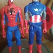 Человек Паук,Капитан Америка,оригинал Hasbro,один на выбор