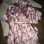 Идеальный халат , нежный цветочный принт
