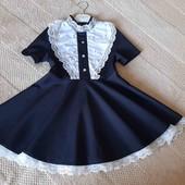 школьное платье р.122