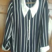 Чорно - біла сорочка