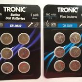 Лот 12 шт батарейки Tronic Германия