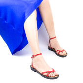 Босоножки- вьетнамки кожаные в 4 цветахСкидка