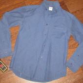 Мега лот! Брендовые рубашки тенниски оригиналы. Все 5 шт одним лотом. Р-ры с-м-л