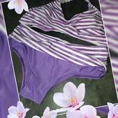 Оригинальный купальник в лиловом цвете размер M 10/12