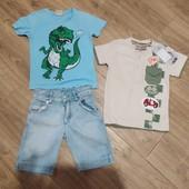 Комплект на мальчика 3-4 года