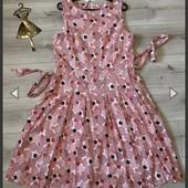 Платье летнее anne klein 20p новое хлопок!