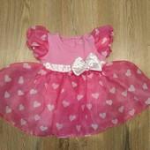 Нарядное платья для принцессы 1 год