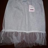 Необычная фирменные Итальянская юбка для девочки, размер 146