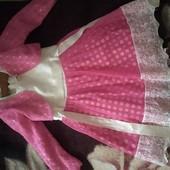 Нарядное платьице для худенькой девочки
