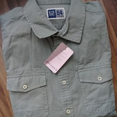 Рубашка джинсовая р. L или как оверсайз под футболку на S/М от Blue Motion
