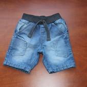 Джинсовые шорты George 2-3 года, рост 92-98.