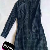 Платье-рубашка в клетку от MET
