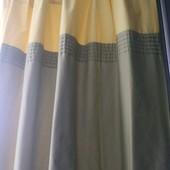 Шикарные плотные шторы,2шт в лоте,166*142