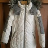 Куртка, зима. р. 10 лет 140 см, Next. состояние отличное