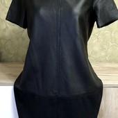 Собираем лоты!! Платье эко кожа от известного бренда, размер 10