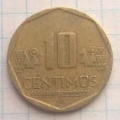 Перу 10 сентимос 2011