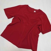 Блуза под шелк, лёгкая и воздушная большой размер