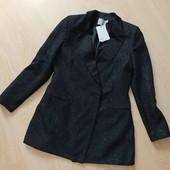 Шикарный удлиненный пиджак р-р 16