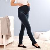 ☘Уютные качественные джинсы беременным,моделируют фигуру, Tchibo(Германия), р. наши: 44-46 (38 евро)