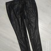 Belty Barclay! фирменные штаны имитация кожи р.50 новое сост