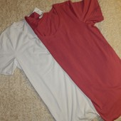 комплект: 2ед, женские базовые футболки от Blue Motion. Германия. Био хлопок.
