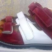 Ортопедические босоножки на девочку, правильная лечебная обувь