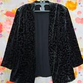 Роскошный пиджак накидка р-р 20