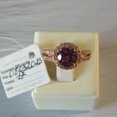 17р✓Невероятно красивое кольцо с шикарным камнем✓✓Позолота 585 пробы✓лоты собираю