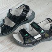 Детские босоножки для мальчика,кожаная стелька.сандали.сандалии