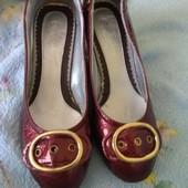 туфли кожа женские на каблуке jinghong