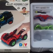 """Набір іграшковий """"Автомобіль зі змінними кузовами"""" інерційний."""