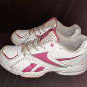Белые кроссовки Reebok, разм. 36 (23,3 см по бирке). Сост. очень хорошее!