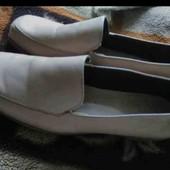 кожаные туфли 41размер