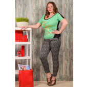 последние модельки...Укороченные Женские штаны на лето,смотрите замеры,размер один.