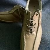 Кожа!!! Туфли - кроссовки, размер 37